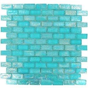 Onix Gl Tiles Geogl Series Iridescent Blue Bricks