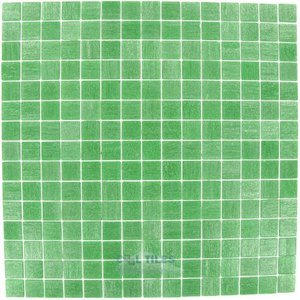 "Vicenza Mosaico Glass Tiles USA - Touch 3/4"" Glass Film-Faced Sheets In Field"