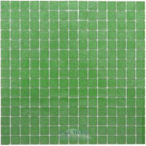 "Vicenza Mosaico Glass Tiles USA - Opal 3/4"" Glass Film-Faced Sheets in Belluno"