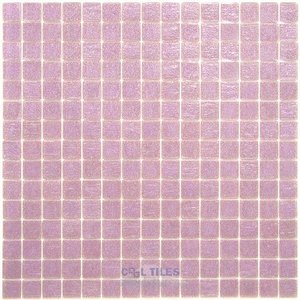 "Vicenza Mosaico Glass Tiles USA - Opal 3/4"" Glass Film-Faced Sheets in Veneto"