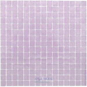 "Vicenza Mosaico Glass Tiles USA - Opal 3/4"" Glass Film-Faced Sheets in Pistoia"