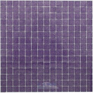 "Vicenza Mosaico Glass Tiles USA - Opal 3/4"" Glass Film-Faced Sheets in Pesaro"