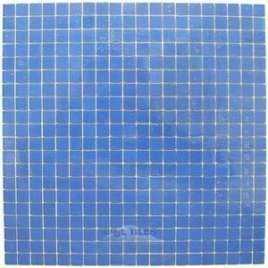 "Vicenza Mosaico Glass Tiles USA - Lumina 5/8"" Glass Film-Faced Sheets in Aquamarine"