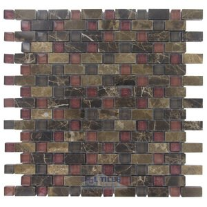 Illusion Glass Tile - Inspiration - Stone & Glass Mosaic Tile in Brilliance