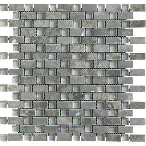 Illusion Glass Tile - Inspiration - Glass and Stone Mosaic Tile in Silver Linings