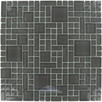 Optimal Tile - Versailles Tile - Versailles Glass Mosaic in Storm