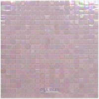 "Vicenza Mosaico Glass Tiles - Phoenix 5/8"" Glass - 5/8"" Glass Film-Faced Sheets in Toasted"