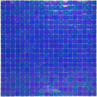 "Vicenza Mosaico Glass Tiles - Phoenix 5/8"" Glass - 5/8"" Glass Film-Faced Sheets in Pool Party"