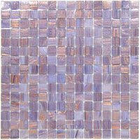 "Vicenza Mosaico Glass Tiles - Spark 3/4"" Glass - 3/4"" Glass Film-Faced Sheets in Aronne"
