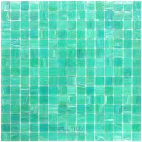"Vicenza Mosaico Glass Tiles - Spark 3/4"" Glass - 3/4"" Glass Film-Faced Sheets in Serge"