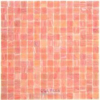 "Vicenza Mosaico Glass Tiles - Spark 3/4"" Glass - 3/4"" Glass Film-Faced Sheets in Rosalia"