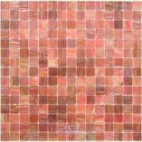 "Vicenza Mosaico Glass Tiles - Spark 3/4"" Glass - 3/4"" Glass Film-Faced Sheets in Tessa"