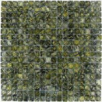 "Illusion Glass Tile - Graffiti - 5/8"" x 5/8"" Glass Mosaic Tile in Graffiti"