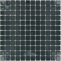 "Vidrepur - Colors - 1"" x 1"" Colors Recycled Glass Tile in Smoke"
