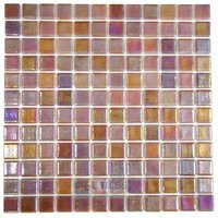 Vidrepur - Special - Recycled Glass Tile Mesh Backed Sheet in Bronze/Blue Iridescent