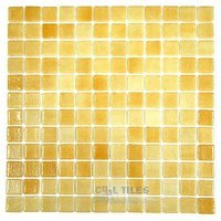 Vidrepur - Nieblas - Recycled Glass Tile Mesh Backed Sheet in Fog Orange