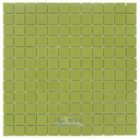 "Vidrepur - Essentials - 1"" x 1"" Recycled Glass Tile on 12 1/2"" x 12 1/2"" Meshed Backed Sheet in Watermelon"