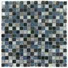 "Onix Glass Tiles - Crystone 5/8"" x 5/8"" Tile in Night Sky"