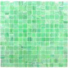 "Vicenza Mosaico Glass Tiles USA - Iride 3/4"" Glass Film-Faced Sheets in Spring Glow"