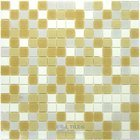 "Vicenza Mosaico Glass Tiles USA - 3/4"" Blends Film-Faced Sheets in Sight"