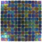 "Illusion Glass Tile - 7/8"" x 7/8"" Glass Mosaic Tile in Vegas"