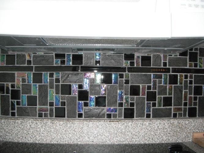 Elida Ceramica Elite Tile Gl Stone 12 X12 Mosaic In Onyx Slate